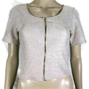 Charlotte Russe Gold Top. NWT. M